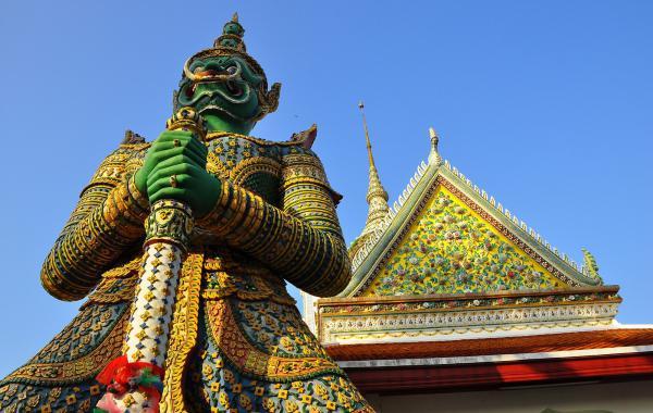 Достопримечательности Тайланда на карте